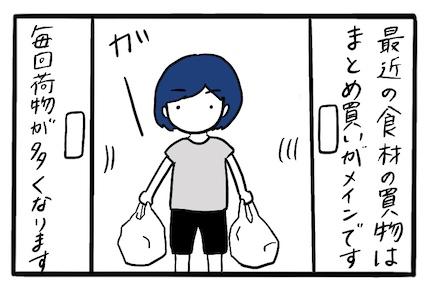自転車カゴに買い物袋を固定する方法