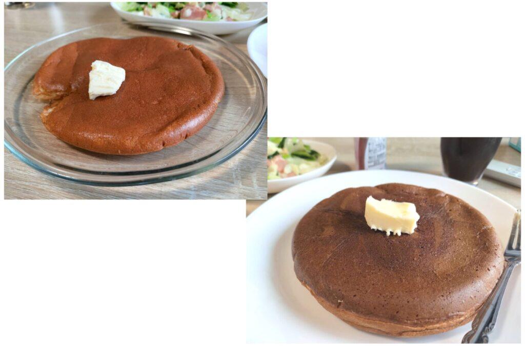 のどか作スフレパンケーキの写真